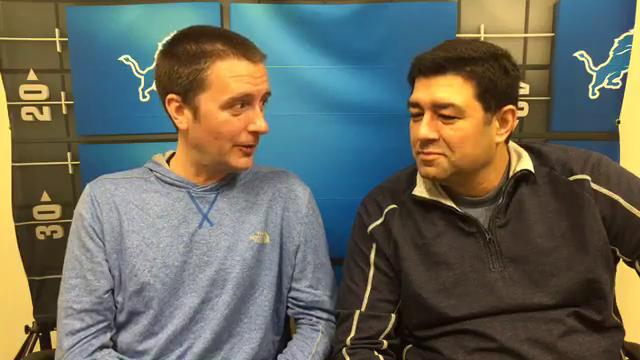 Free Press sports writers Dave Birkett and Carlos Monarrez talk through their favorite Lions on Thanksgiving memories, then predict Thursday's Lions-Vikings game on Thanksgiving Day. Recorded Tuesday, Nov. 21, 2017.