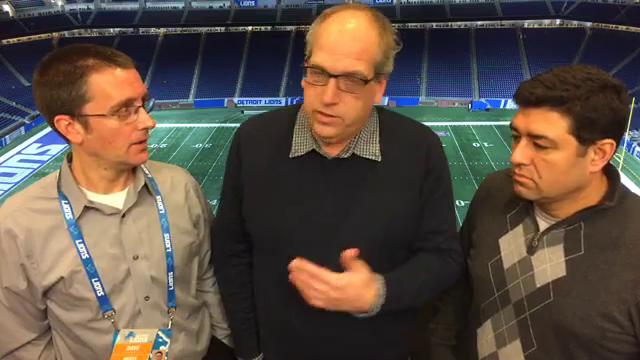 Free Press sports writers Dave Birkett, Carlos Monarrez and columnist Shawn Windsor dissect the Lions' frustrating 30-23 loss to the Vikings on Thanksgiving at Ford Field on Nov. 23, 2017.