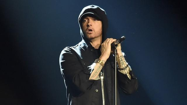 "Detroit rapper Eminem releases first new album since his ""The Marshall Mathers LP 2"" in 2013."