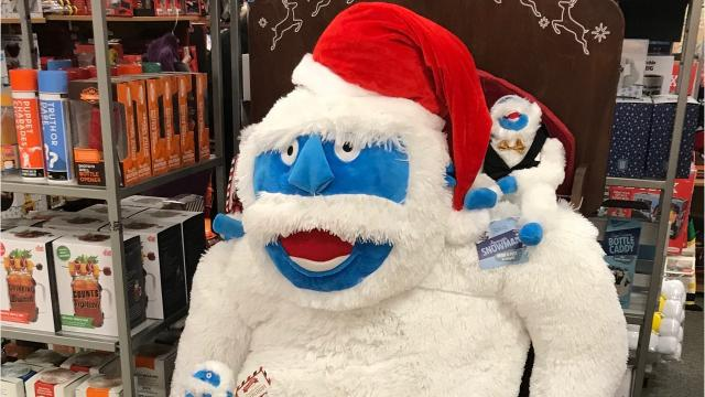 Move over Santa and Rudolph, there's a new holiday season favorite in town: Introducing the Yeti.