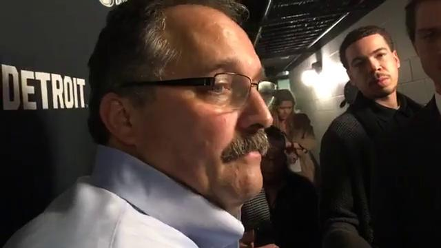 Pistons coach Stan Van Gundy dissects his team's third straight loss, a tough 96-93 defeat to the Spurs in San Antonio on Monday, Dec. 4, 2017.