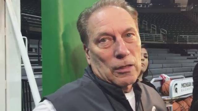 MSU coach Tom Izzo, Miles Bridges and Cassius Winston explain what they're working on with six non-conference games this month. Recorded Dec. 8, 2017.