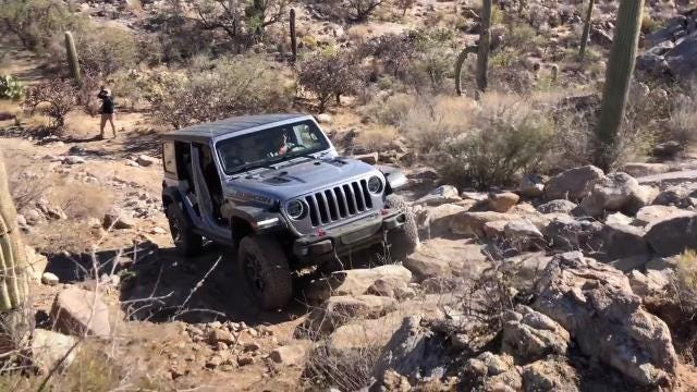 Light, strong body and new techs take Jeep's signature vehicle to new heights.