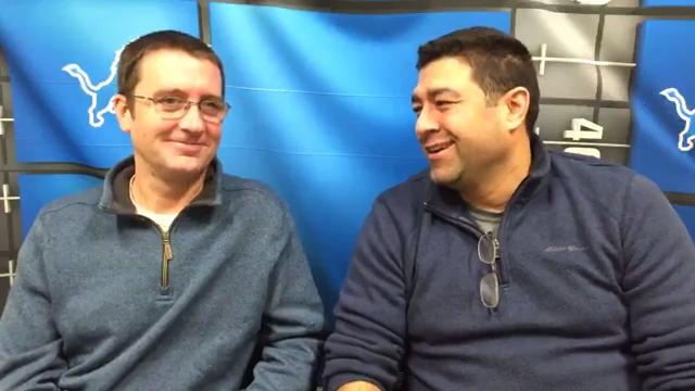 Dave Birkett and Carlos Monarrez predict the outcome ofthe Saturday game between the Detroit Lions and Chicago Bears.