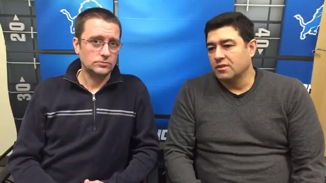 Dave Birkett and Carlos Monarrez give their predictions for Sunday's season finale between the Lions-Packers game.
