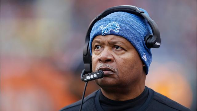 Jim Caldwell was fired after four seasons as head coach of the Lions, accumulating a 36-28 regular season record with an 0-2 mark in the playoffs.