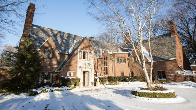 Built in 1927, this is one of the grand old mansions of Grosse Pointe Farms.