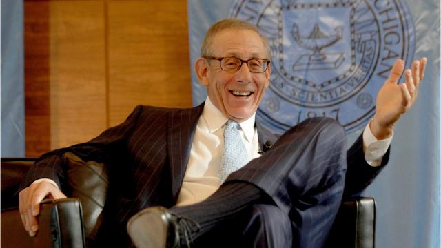 Stephen Ross is a real estate developer, philanthropist and sports team owner.