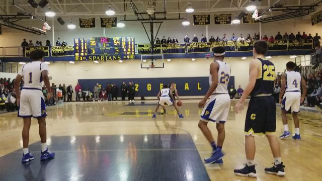 Shots of Clarkston's Foster Loyer against Detroit Pershing on Saturday, Jan. 13, 2018, in the Horatio Williams Foundation MLK Freedom Classic. Video by Vito Chirco/Special to DFP