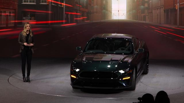 Ford's 2019 Mustang Bullitt shares spotlight with 1968 Fastback