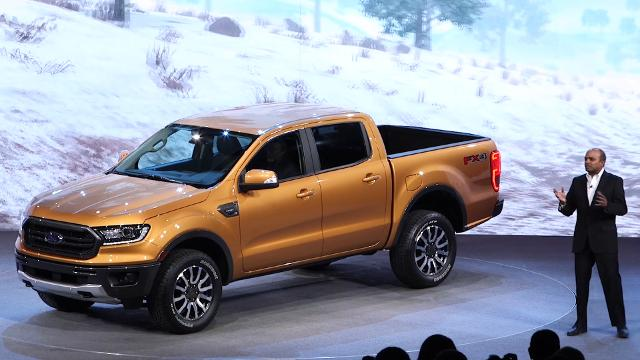 It's the Return of the Ranger on Sunday as Ford reveals an all-new midsize pickup bearing the popular name at the Detroit auto show.