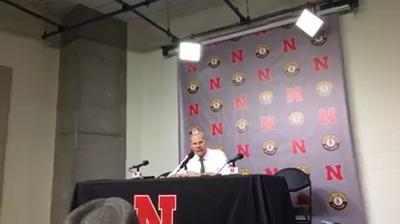 Michigan coach John Beilein reacts to the Wolverines' 72-52 drubbing in Nebraska on Thursday, Jan. 18, 2018.