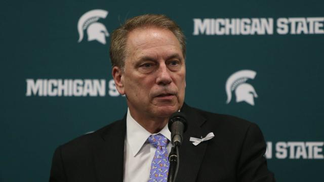Michigan State's Tom Izzo supports survivors; won't retire