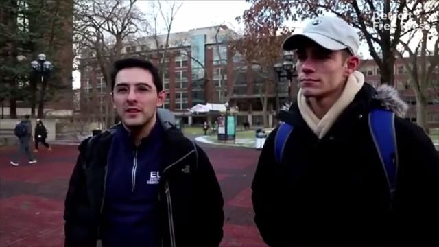 Detroit Free Press reporter David Jesse asks University of Michigan students how they think the university should spend it's endowment fund.