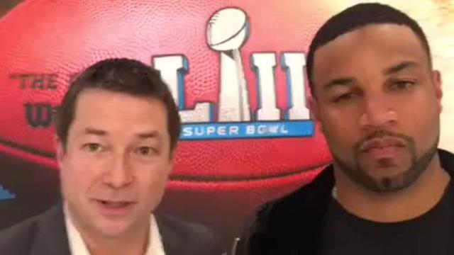 We caught up with Detroit Lions WR Golden Tate in Bloomington, Minn. and asked him about the team's new coach Matt Patricia.