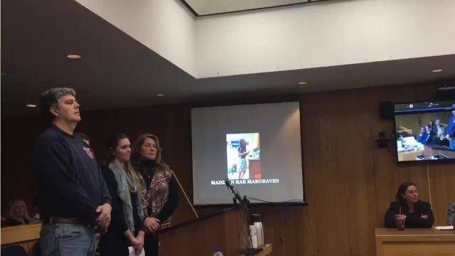 Father lunges at Larry Nassar after daughters give victim-impact statements