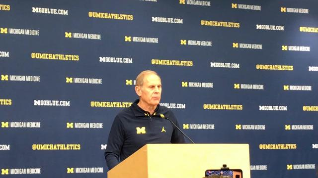 Michigan coach John Beilein addresses the media on Friday, Feb. 2, 2018, in Ann Arbor. Video by Nick Baumgardner/DFP