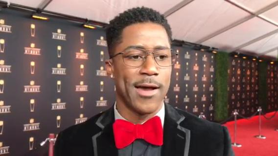 CBS/NFL Network analyst Nate Burleson, a former Detroit Lions wide receiver, talks on the red carpet for the NFL Honors in Minneapolis on Saturday, Feb. 3, 2018. Video by Dave Birkett/DFP