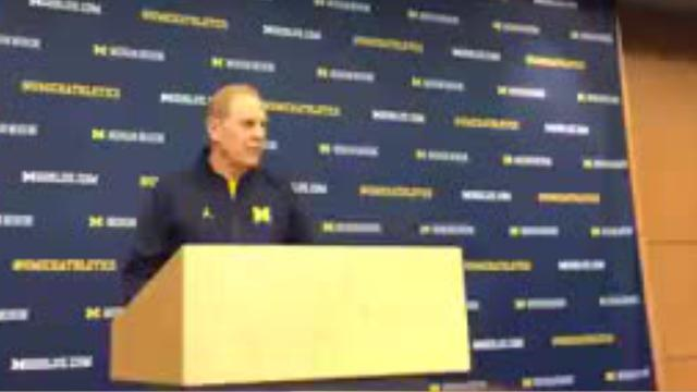 University of Michigan men's basketball coach John Beilein speaks to the media about an upcoming game against Northwestern on the road, Monday, Feb. 5, 2018.
