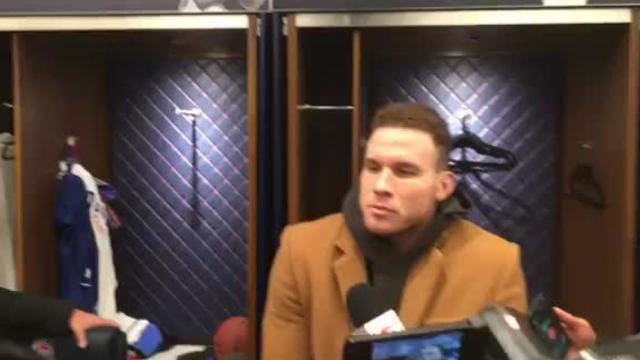 Detroit Pistons PF Blake Griffin on loss vs. Clippers