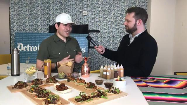 Junior Merino shares a look at the unique food of M Cantina with Free Press restaurant critic Mark Kurlyandchik.