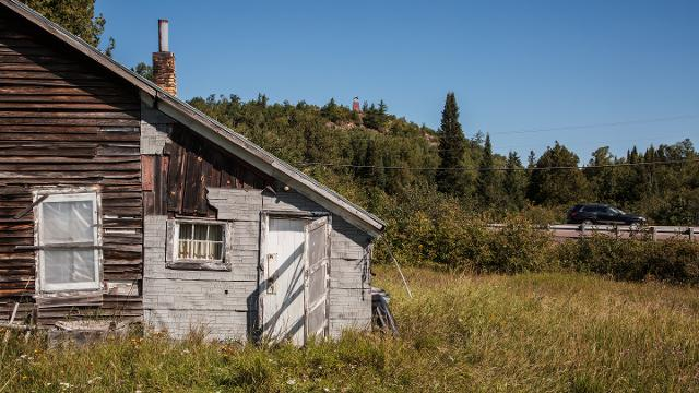 For some in the U P , a ghost town is home
