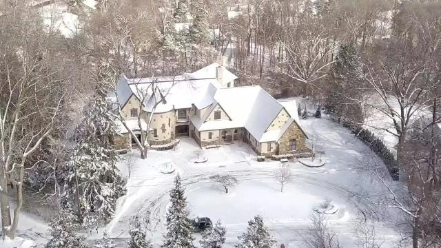 Ex-Detroit Lions coach Jim Caldwell is selling his Franklin home for $2.499 million. Video courtesy of Brandon Ramsay, WayUp Media