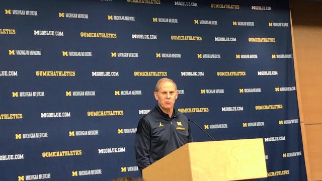 Michigan coach John Beilein speaks to the media on Friday, Feb. 16, 2018, in Ann Arbor. Video by Nick Baumgardner/DFP
