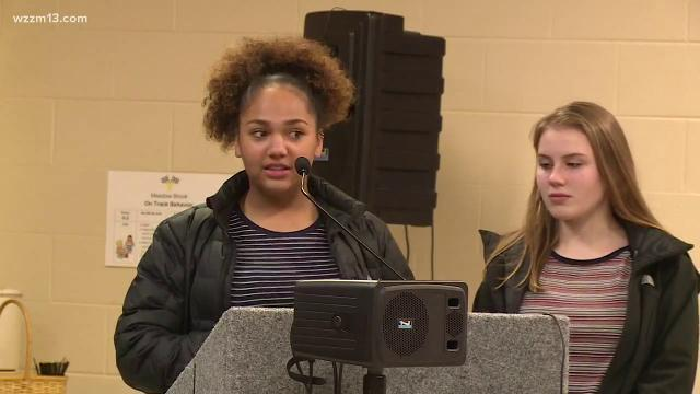 Dozens of parents, students and others wanted to voice their concerns after they say a student portrayed blackface earlier this month at Forest Hills Northern High School.