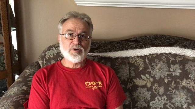 Billy Phillips of Taylor talks about a fall that ruined his career as an auto body repairman. Because of his lack of mobility in his arm, Phillips had no choice but to file for disability and Social Security.