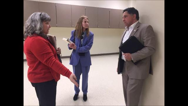"""In a message left on Frank Cusumano's voicemail, a woman he identified as Jacqueline Ryan says he would be """"lynched"""" if he walked into the county offices again."""
