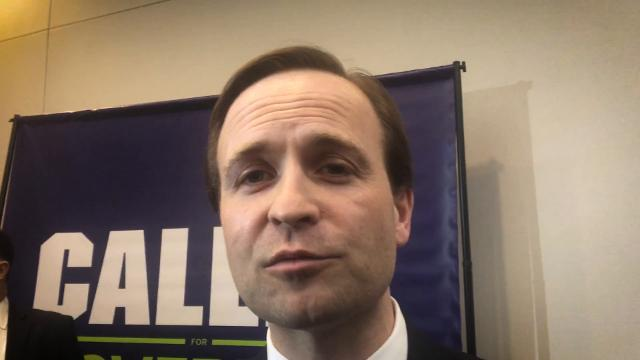 Lt. Gov. Brian Calley talks about Centria Healthcare, a  company that provides autism therapy and is under investigation by the Attorney General's Office.