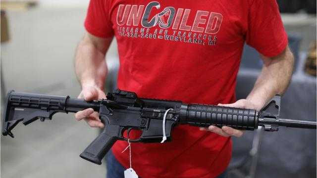What people at a gun show think about gun control