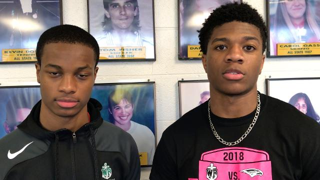 West Bloomfield football players Lance Dixon and Tre Mosley talk about their college recruitment. Video by Chris Nelsen/Special to DFP