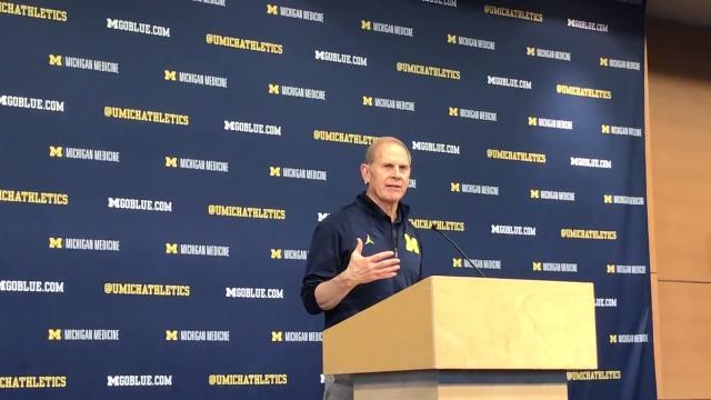 Michigan basketball coach John Beilein previews the Big Ten tournament. Recorded Tuesday, Feb. 27.