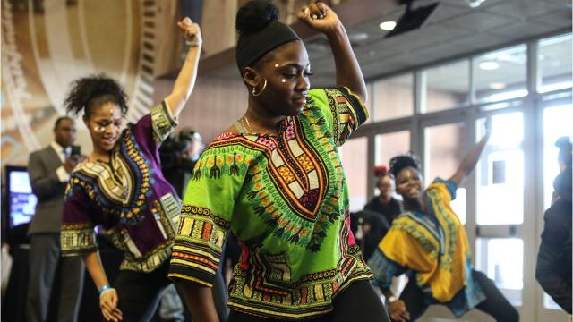 """The Ford Fund, the Detroit Lions, the Detroit Free Press, the Marshall Mathers Foundation and the Sean Anderson Foundation are joining Jemele Hill and Rochelle Riley to take 900 kids to see """"Black Panther"""" where Big Sean made a surprise appearance."""