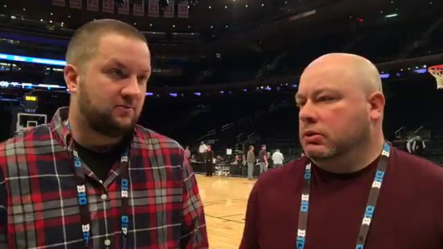 Free Press sports writers Chris Solari and Nick Baumgardner preview the Michigan-Michigan State game in the Big Ten tournament semifinal today at Madison Square Garden.