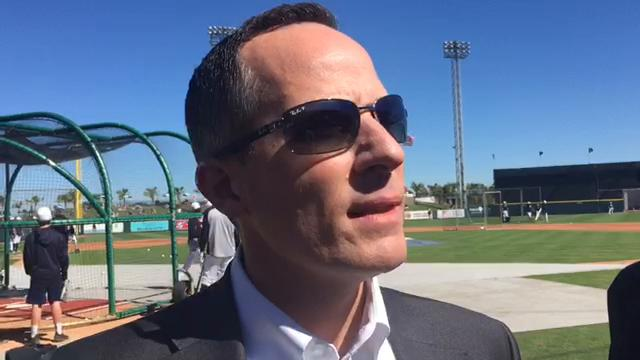 Detroit Tigers owner Chris Ilitch spoke to reporters on Saturday, March 3, 2018, in Lakeland, Fla. Video by George Sipple/DFP