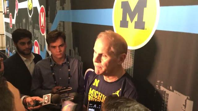 Michigan men's basketball coach John Beilein talks about his team's win against Purdue, 75-66, in the Big Ten tournament final on Sunday, March 4, 2018 and looks forward to the NCAA tournament.