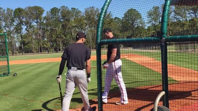 The Tigers held an open tryout in Lakeland, Fla. on Monday, March 5, 2018. Hear from former major league catcher and current free agent Steve Clevenger.