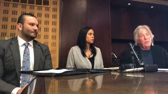 Watch: Geoffrey Fieger and former WXYZ-TV reporter Tara Edwards address the media about Malcom Maddox lawsuit