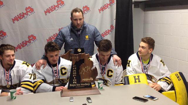 Hartland hockey wins Division 2 title