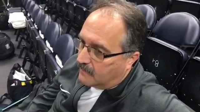 Detroit Pistons coach Stan Van Gundy discusses how he will handle point guard Reggie Jackson when he returns from the severe right ankle injury that has forced him from the lineup since Dec. 26.
