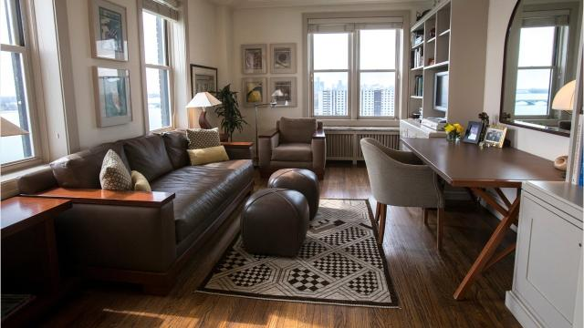 Be pampered by staff at historic Detroit condo