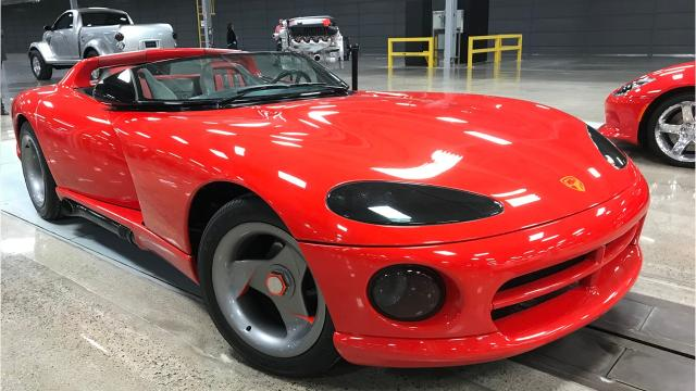Brandt Rosenbusch, manager of Historical Services for Fiat Chrysler Automobiles, talks about the transition of Conner Avenue Assembly in Detroit to Conner Center, where it will keep its historic and concept vehicle collection. The plant formerly made the Dodge Viper.