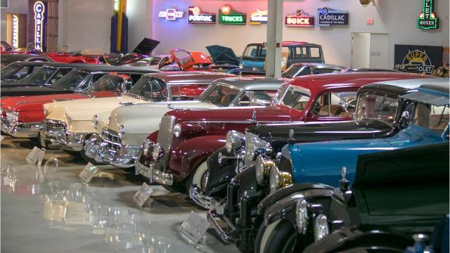 detroit s best kept auto secret gm s private museum for vintage cars
