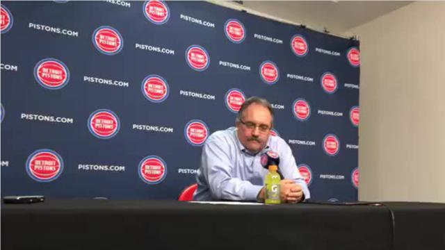 Detroit Pistons coach Stan Van Gundy irritated with team's defense and Luke Kennard's energy – despite 113-107 victory over the Dallas Mavericks.