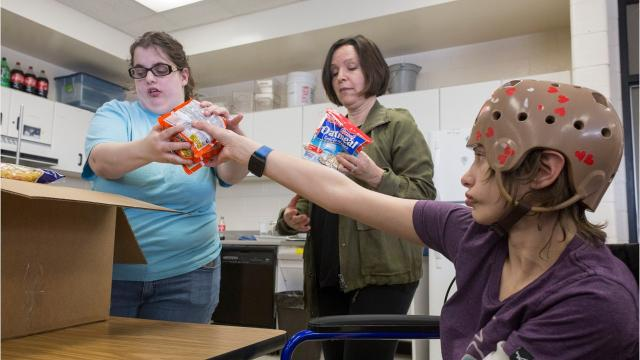 A food pantry in Livonia Public Schools was created nearly five years ago by a middle school principal concerned with the growing numbers of needy children in the district. It has since expanded and is now located at Franklin High School.