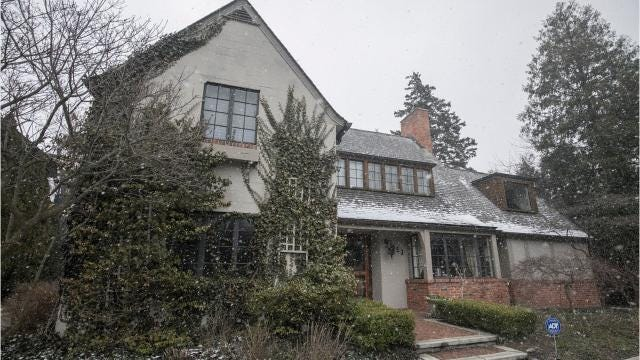 his vintage Birmingham house comes with a giant package of art and architecture cache. Its architect was the esteemed Wallace Frost, whose cottagey, Craftsman-like houses remain in high demand after 90 years. Owners affectionately call them Wallys.