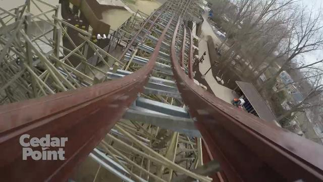 Take A Ride On Cedar Points Steel Vengeance